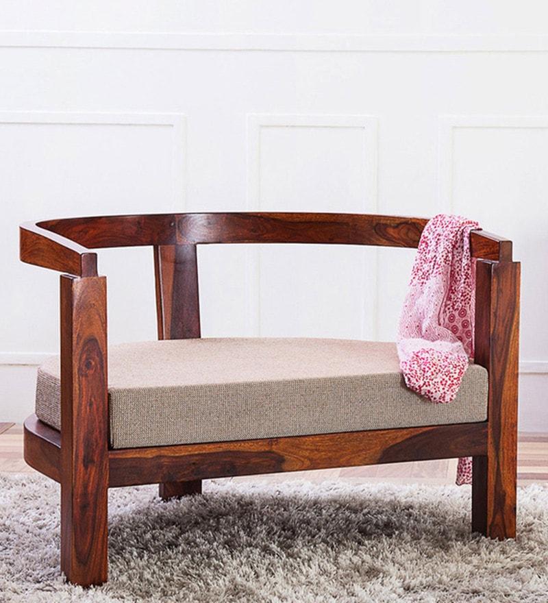 Omaha Arm Chair in Honey Oak Finish by Woodsworth