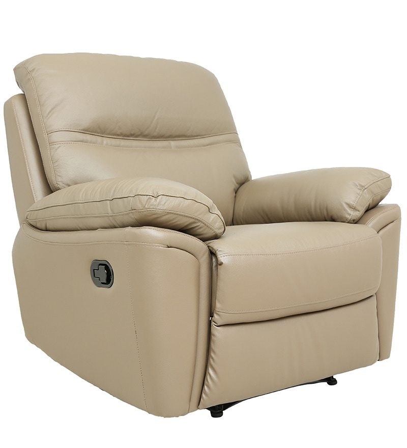 Buy One Seater Recliner Sofa in Taupe Colour Leatherette by Star India Online - One Seater Recliners - Recliners - Pepperfry  sc 1 st  Pepperfry : one seater recliner - islam-shia.org