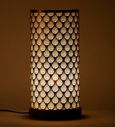 Orange Tree Gold Iron Cylo Table Lamp
