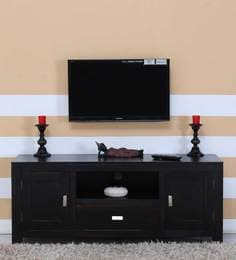 Oriel Two Door  Entertainment Unit In Warm Chestnut Finish