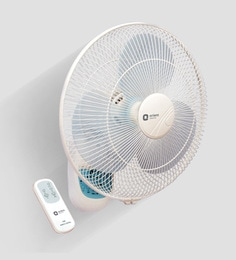 orient wall49 400 mm white wall mounted fan
