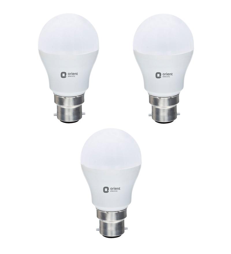 Orient Eternal Shine White 12W LED Bulbs - Set of 3