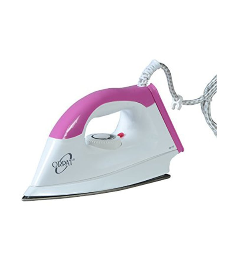 Orpat OEI-177 Pink Electric Dry Iron