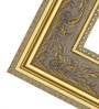 Oritz Minimalist Mirrors in Gold by CasaCraft