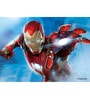 Licensed Iron Man Digital Printed Folding Laptop Table by Orka