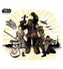 Licensed Team Star Wars Digital Printed Wall Decal by Orka