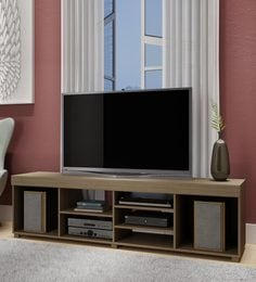 Otoko TV Unit In Oak Finish