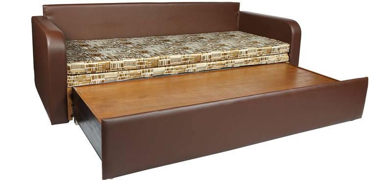 Buy Pater R Sofa Cum Bed In Brown Firozi Design Mattress