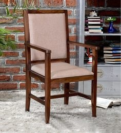 Peshtigo Arm Chair In Provincial Teak Finish