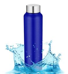Pexpo Chromo Series Ideale Blue Stainless Steel 1 L Elegant Water Bottle