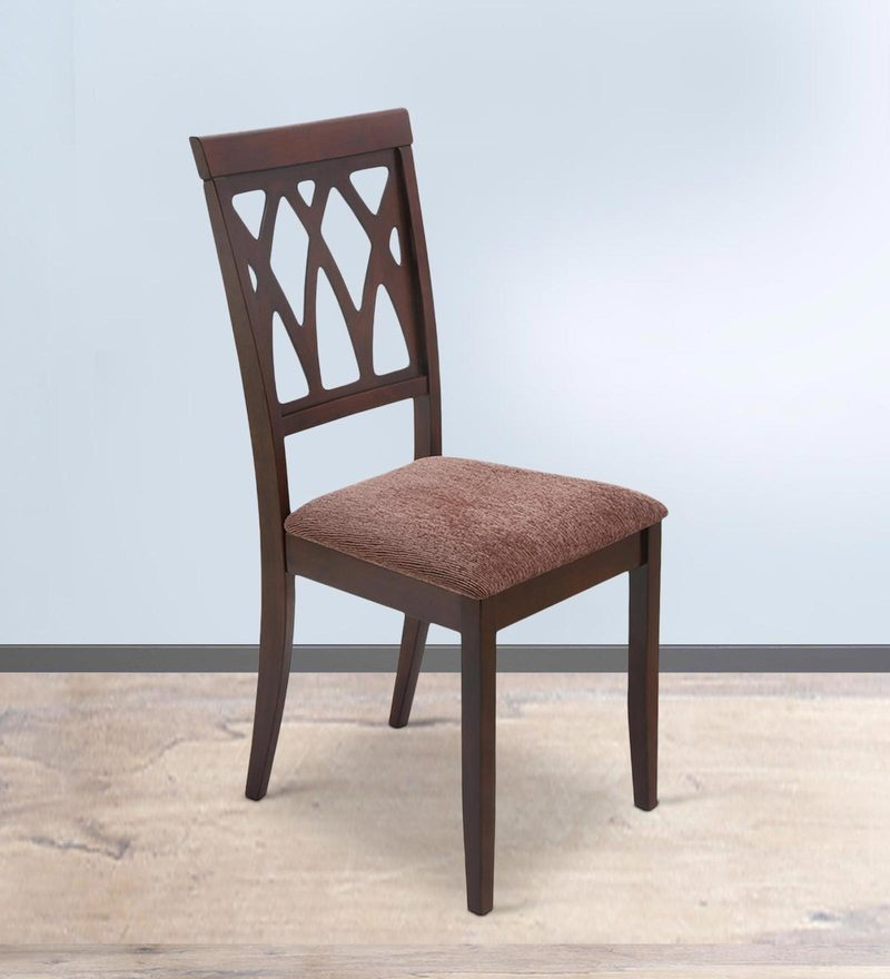 Peak Dining Chair in Brown Colour by @Home