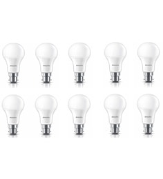 Philips B22 14-Watt LED Bulb-Pack Of 10