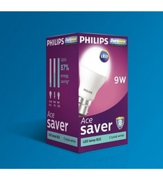 Philips B22 9-Watt LED Bulb- Pack Of 10