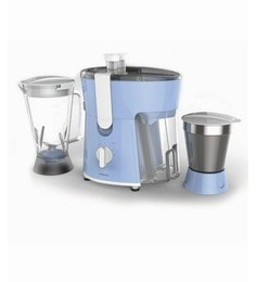 Philips White And Blue HL7575 600 W Juicer Mixer Grinder