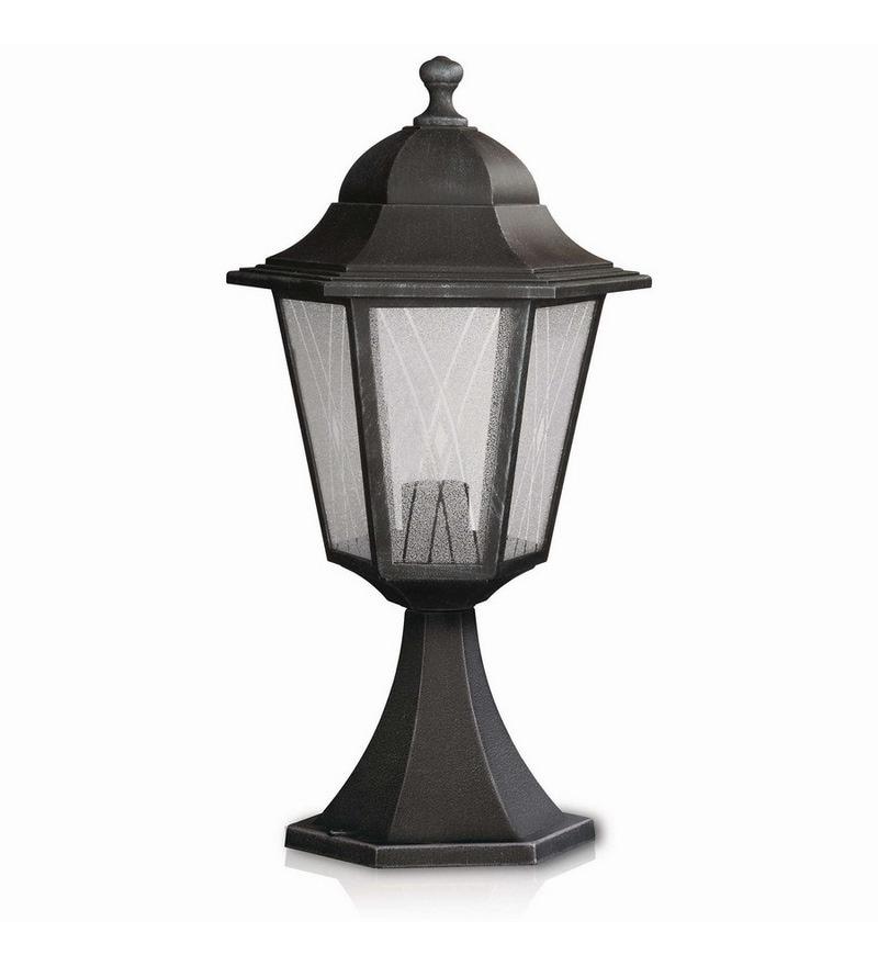 Philips 15332_54 Black Post Lamp