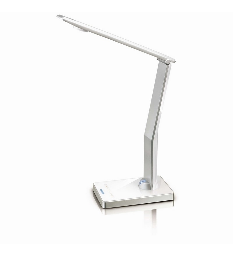 Silver Desk Lamp by Philips