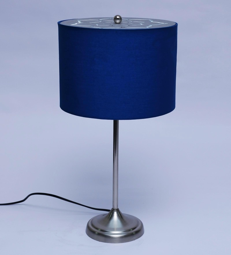 Buy Blue Metal Table Lamp By Philips Online Contemporary