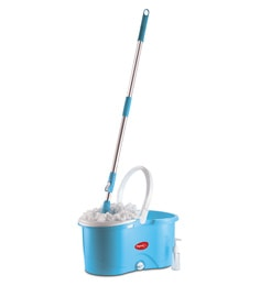 Pigeon Plastic Blue Spin Mop With 2 Refills