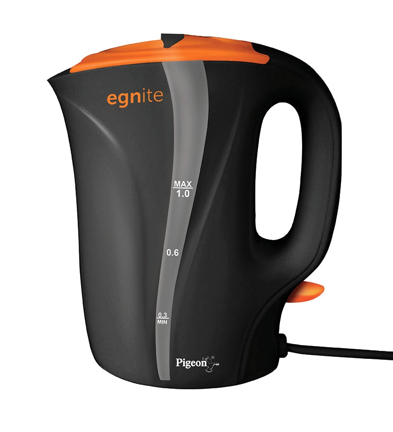 Pigeon Egnite Exposed Electric Kettle - 1.0 Liter