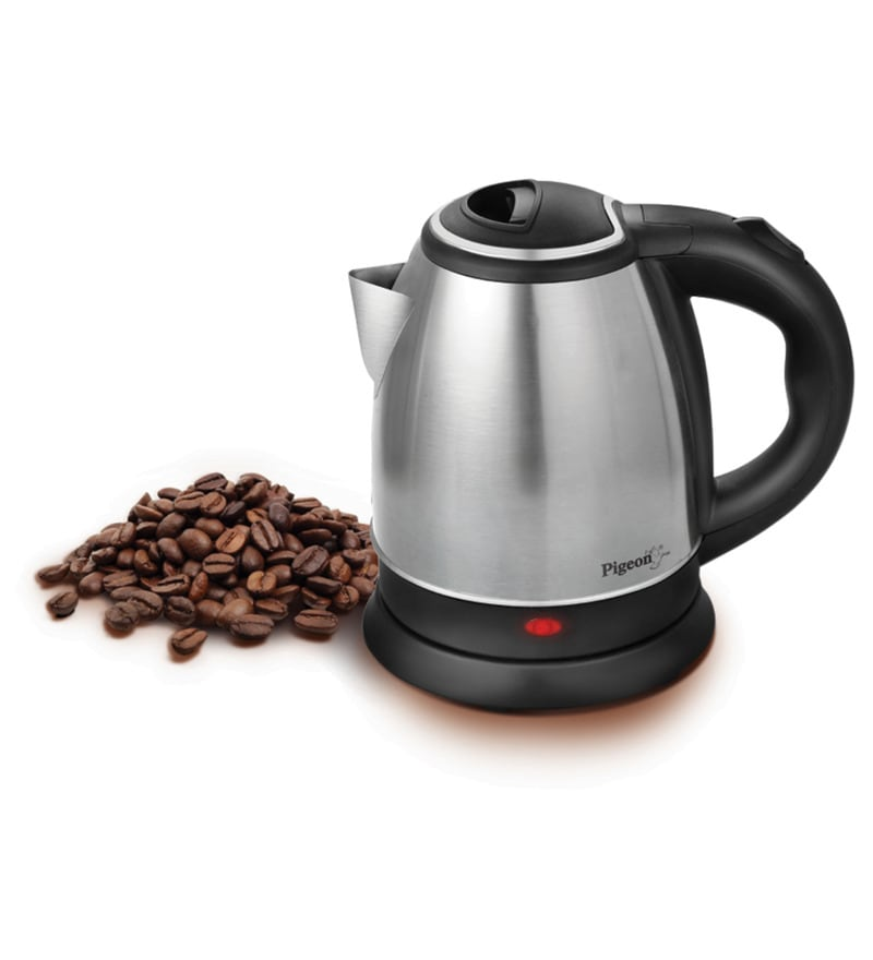 Pigeon Gypsy Silver 1.2 L Electric Kettle