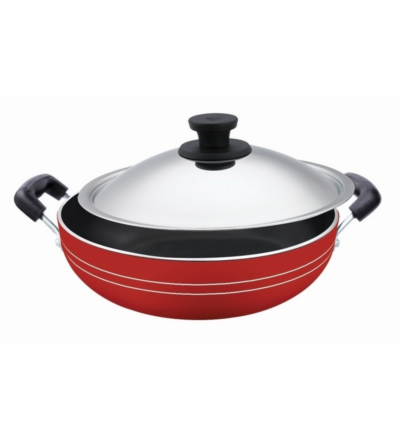 Induction Base Non Stick Aluminium 2000 ML Kadhai by Pigeon