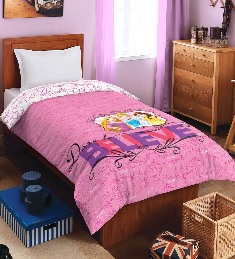 Prime Buy Pink 100 Polyester Disney Single Size Kids Blanket By Ibusinesslaw Wood Chair Design Ideas Ibusinesslaworg