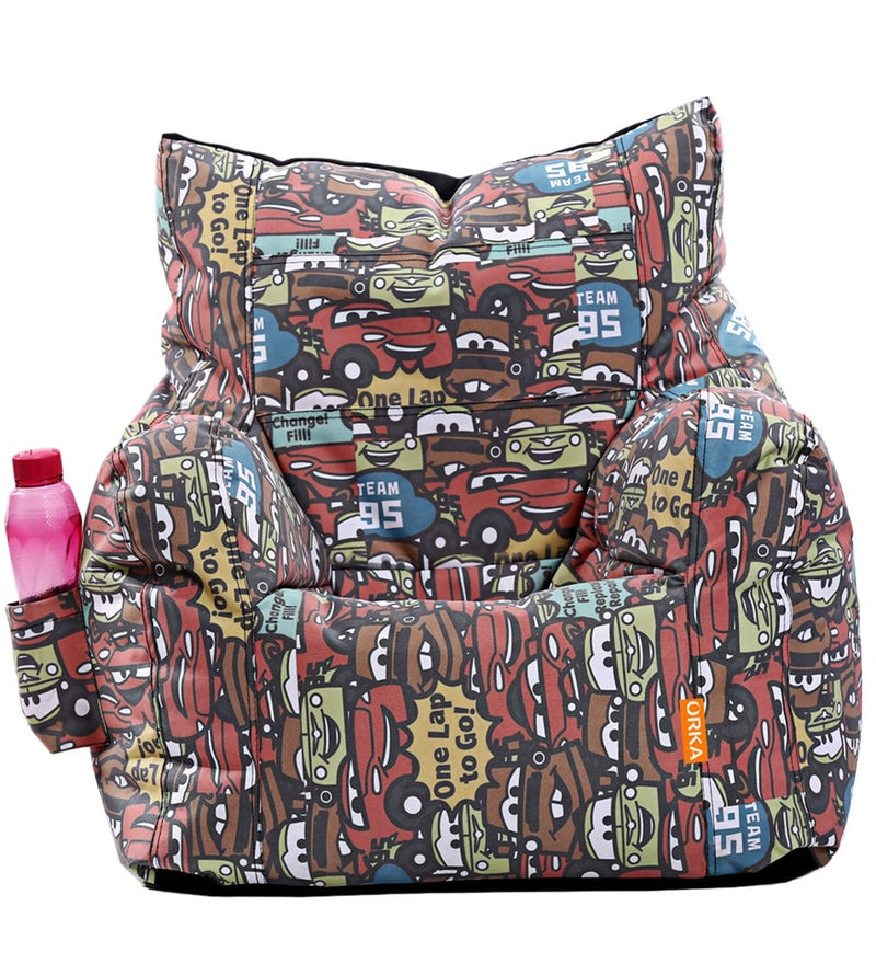 Pixar Cars XXL Kids Bean Bag Cover in Multicolour by Orka