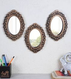 with Feet Oval  Display Mirrors 5 Different Sizes Pads