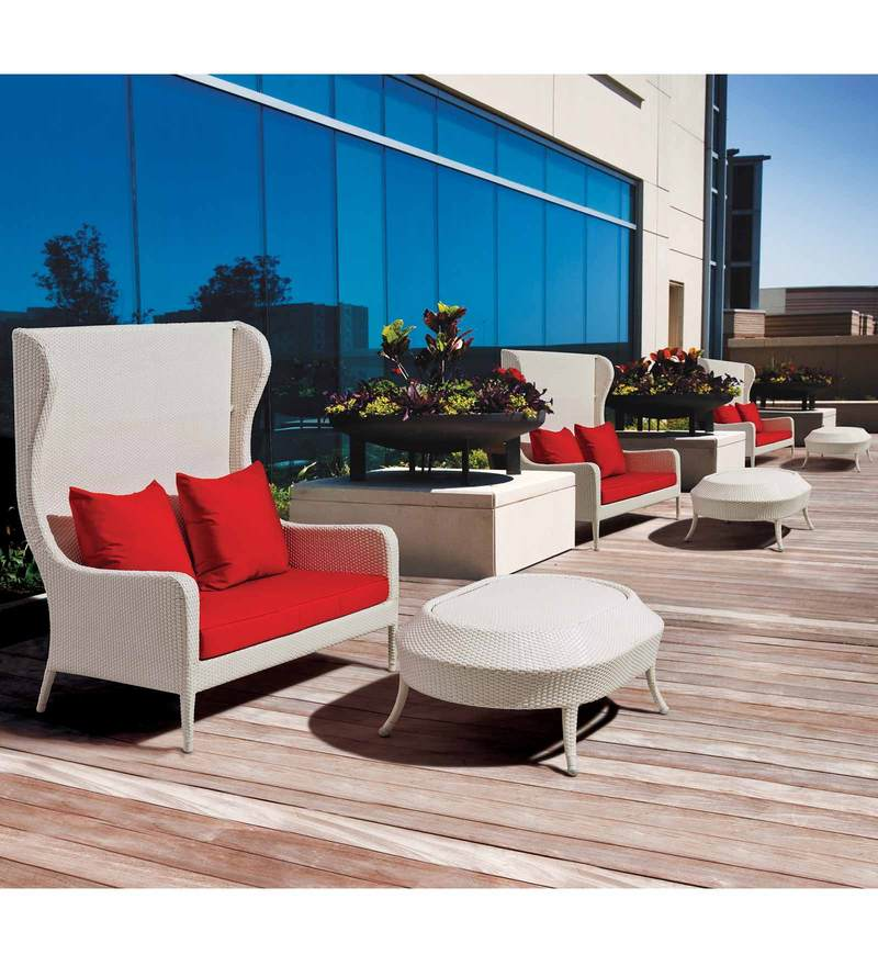Plush Living Outdoor Set (2S + CT) by Loom Crafts