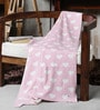Little Hearts Knitted Baby Cotton Kid's Blanket by Pluchi