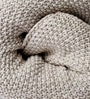 The Moss Beauty Knitted Single-Size Throw Blanket by Pluchi