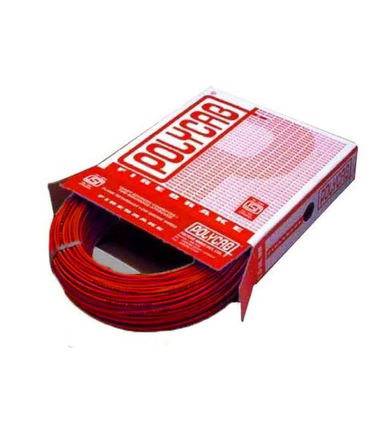 Polycab Industrial Red 2.5 Sq.mm (90 m) Multistrand Wire