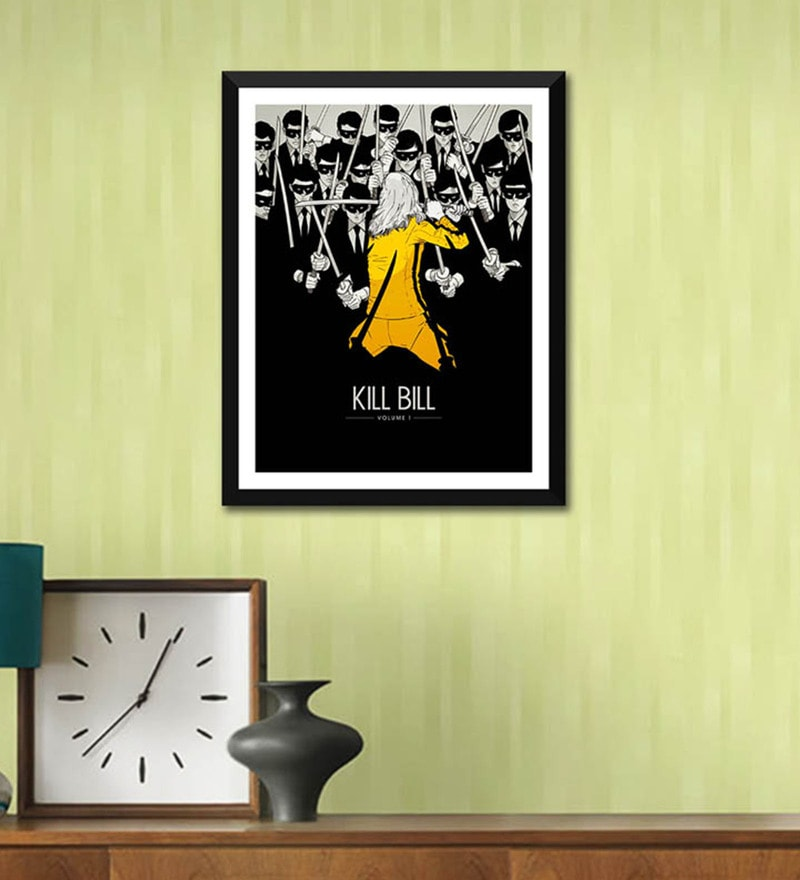 Poster Paper 12 x 17 Inch Homage Kill Bill Framed Poster by Tallenge