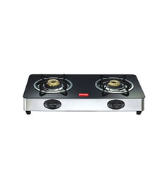 Prestige GT02 2-burner Glass Cooktop