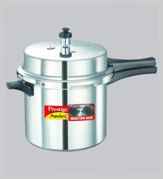 Prestige Popular Plus Induction Base Pressure Cooker ,6000 ML
