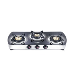 Prestige GTSM03L Premia 3-burner Glass Cooktop