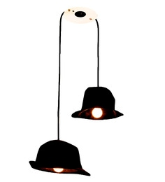 Untold Homes Hat Black Black Pendant