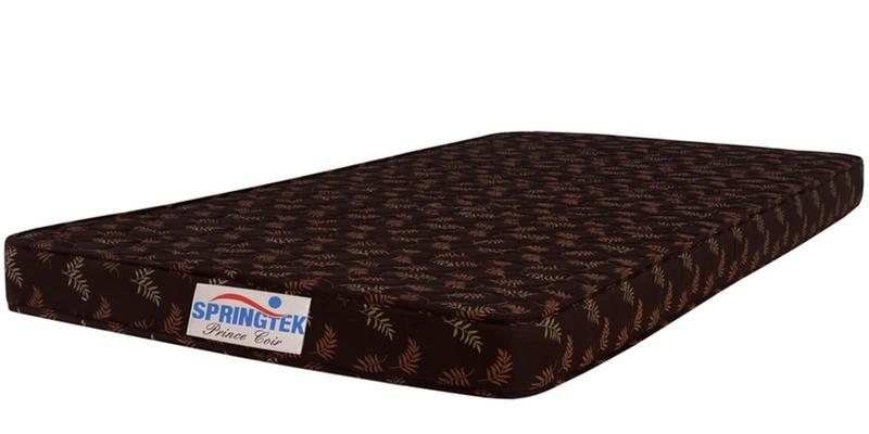 Prince Queen Size (75x60) 4 Inches Coir Mattress by Springtek Ortho Coir