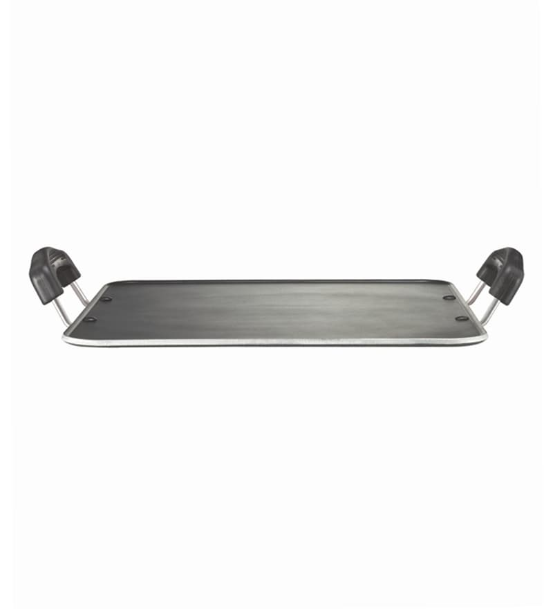 Omega Select Plus Steel Heavy Gauge Square Tawa by Prestige