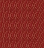 Red Polyester Abstract Eyelet Curtain - Set of 2 by Presto