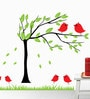 PVC Wall Stickers Wall Decals Beautiful Tree and Birds by Print Mantras