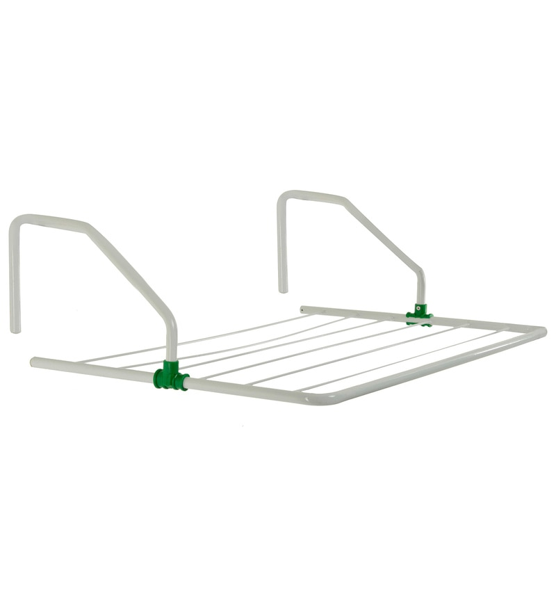 Pull n Dry 2 FT Metal Parapet Grill Hanger Clothes Dryer