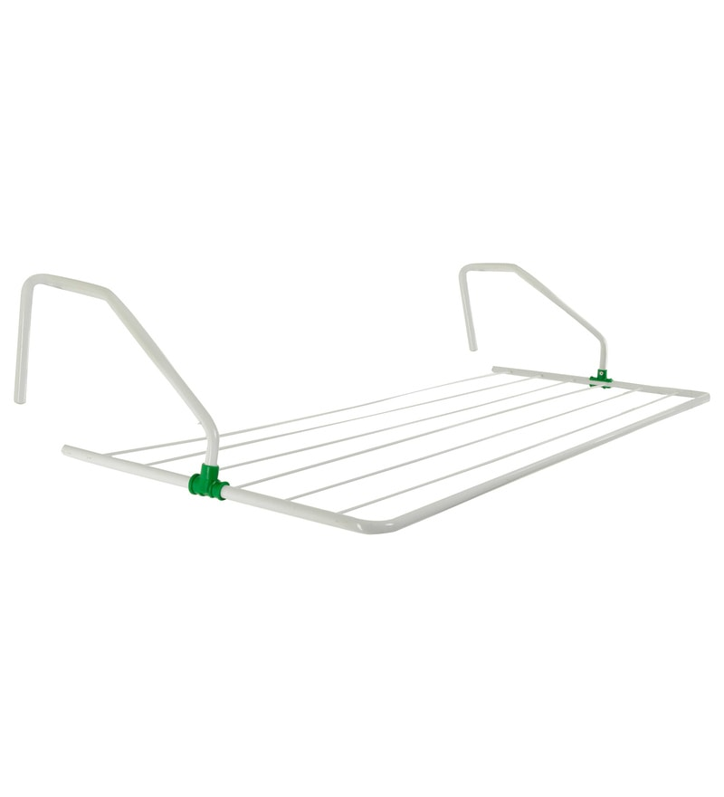 Pull n Dry 4 FT Metal Parapet Grill Hanger Clothes Dryer