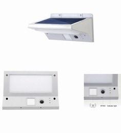 21 LED Outdoor Wireless Waterproof Security Motion Sensor Solar Powered Light Triple Mode - PIR/Low Light, PIR/Off, Continuous Light