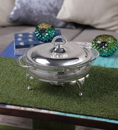 Queen Anne Silver Plated Casserole
