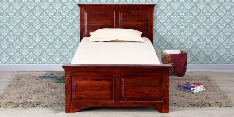 Queensberry Single Bed in Honey Oak Finish by Amberville
