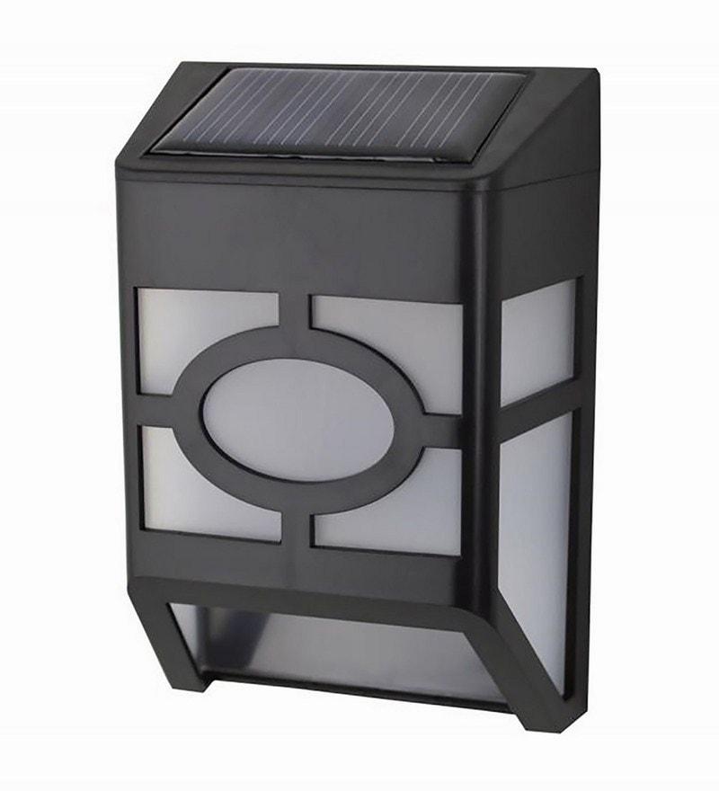 Solar Box Design LED Poly Propylene Solar Light by Quace