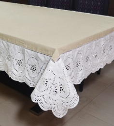 Cotton Beige Table Cloth ... & Table Cloths - Buy Table Cloths Online in India at Best Prices ...