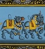 Paper 11 x 3 Inch Classy Elephant Unframed Painting by Rajrang