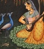 Paper 3.5 x 5 Inch Traditional Unframed Painting by Rajrang